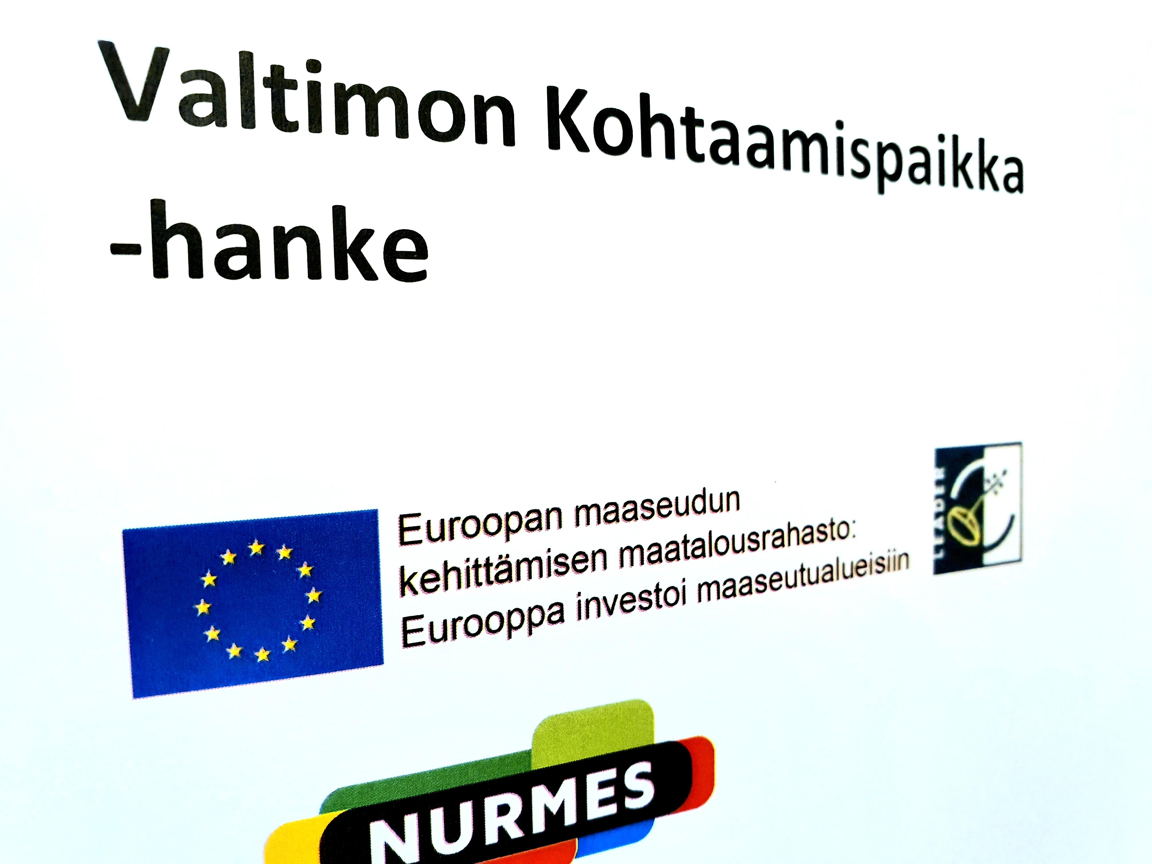 Valtimon Kohtaamispaikka Hanke Nurmes